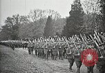 Image of Unknown Soldier of World War 1 arrives at Arlington National Cemetery Arlington Virginia USA, 1921, second 49 stock footage video 65675021989