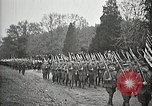 Image of Unknown Soldier of World War 1 arrives at Arlington National Cemetery Arlington Virginia USA, 1921, second 50 stock footage video 65675021989