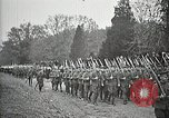 Image of Unknown Soldier of World War 1 arrives at Arlington National Cemetery Arlington Virginia USA, 1921, second 53 stock footage video 65675021989