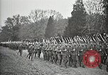 Image of Unknown Soldier of World War 1 arrives at Arlington National Cemetery Arlington Virginia USA, 1921, second 54 stock footage video 65675021989