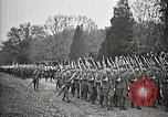 Image of Unknown Soldier of World War 1 arrives at Arlington National Cemetery Arlington Virginia USA, 1921, second 56 stock footage video 65675021989