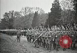 Image of Unknown Soldier of World War 1 arrives at Arlington National Cemetery Arlington Virginia USA, 1921, second 57 stock footage video 65675021989