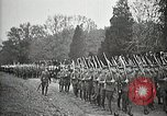 Image of Unknown Soldier of World War 1 arrives at Arlington National Cemetery Arlington Virginia USA, 1921, second 58 stock footage video 65675021989