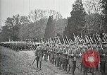 Image of Unknown Soldier of World War 1 arrives at Arlington National Cemetery Arlington Virginia USA, 1921, second 60 stock footage video 65675021989