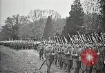 Image of Unknown Soldier of World War 1 arrives at Arlington National Cemetery Arlington Virginia USA, 1921, second 61 stock footage video 65675021989