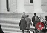 Image of Funeral service for first American Unknown Soldier Arlington Virginia USA, 1921, second 13 stock footage video 65675021990