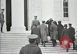 Image of Funeral service for first American Unknown Soldier Arlington Virginia USA, 1921, second 17 stock footage video 65675021990