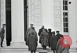 Image of Funeral service for first American Unknown Soldier Arlington Virginia USA, 1921, second 19 stock footage video 65675021990