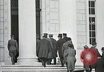 Image of Funeral service for first American Unknown Soldier Arlington Virginia USA, 1921, second 21 stock footage video 65675021990
