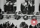 Image of Funeral service for first American Unknown Soldier Arlington Virginia USA, 1921, second 43 stock footage video 65675021990