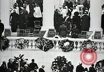 Image of Funeral service for first American Unknown Soldier Arlington Virginia USA, 1921, second 45 stock footage video 65675021990