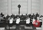 Image of Funeral service for first American Unknown Soldier Arlington Virginia USA, 1921, second 50 stock footage video 65675021990