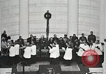 Image of Funeral service for first American Unknown Soldier Arlington Virginia USA, 1921, second 52 stock footage video 65675021990