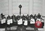 Image of Funeral service for first American Unknown Soldier Arlington Virginia USA, 1921, second 53 stock footage video 65675021990