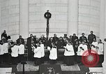 Image of Funeral service for first American Unknown Soldier Arlington Virginia USA, 1921, second 54 stock footage video 65675021990