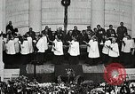 Image of Funeral service for first American Unknown Soldier Arlington Virginia USA, 1921, second 59 stock footage video 65675021990
