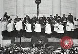 Image of Funeral service for first American Unknown Soldier Arlington Virginia USA, 1921, second 60 stock footage video 65675021990