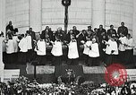 Image of Funeral service for first American Unknown Soldier Arlington Virginia USA, 1921, second 61 stock footage video 65675021990