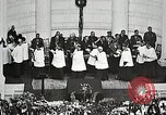 Image of Funeral service for first American Unknown Soldier Arlington Virginia USA, 1921, second 62 stock footage video 65675021990