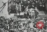 Image of first burial ceremony at Tomb of the Unknown Soldier Arlington Virginia USA, 1921, second 11 stock footage video 65675021991