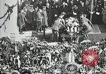Image of first burial ceremony at Tomb of the Unknown Soldier Arlington Virginia USA, 1921, second 13 stock footage video 65675021991