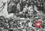 Image of first burial ceremony at Tomb of the Unknown Soldier Arlington Virginia USA, 1921, second 14 stock footage video 65675021991