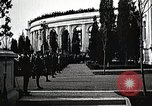 Image of first burial ceremony at Tomb of the Unknown Soldier Arlington Virginia USA, 1921, second 17 stock footage video 65675021991