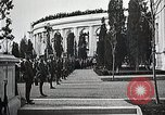 Image of first burial ceremony at Tomb of the Unknown Soldier Arlington Virginia USA, 1921, second 18 stock footage video 65675021991