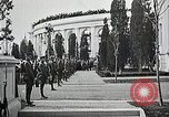 Image of first burial ceremony at Tomb of the Unknown Soldier Arlington Virginia USA, 1921, second 19 stock footage video 65675021991