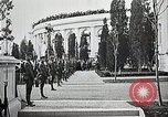 Image of first burial ceremony at Tomb of the Unknown Soldier Arlington Virginia USA, 1921, second 20 stock footage video 65675021991