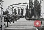 Image of first burial ceremony at Tomb of the Unknown Soldier Arlington Virginia USA, 1921, second 21 stock footage video 65675021991