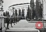 Image of first burial ceremony at Tomb of the Unknown Soldier Arlington Virginia USA, 1921, second 22 stock footage video 65675021991
