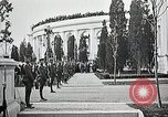 Image of first burial ceremony at Tomb of the Unknown Soldier Arlington Virginia USA, 1921, second 23 stock footage video 65675021991