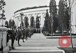 Image of first burial ceremony at Tomb of the Unknown Soldier Arlington Virginia USA, 1921, second 24 stock footage video 65675021991
