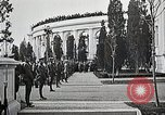 Image of first burial ceremony at Tomb of the Unknown Soldier Arlington Virginia USA, 1921, second 26 stock footage video 65675021991