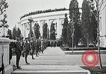 Image of first burial ceremony at Tomb of the Unknown Soldier Arlington Virginia USA, 1921, second 28 stock footage video 65675021991