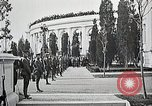Image of first burial ceremony at Tomb of the Unknown Soldier Arlington Virginia USA, 1921, second 29 stock footage video 65675021991