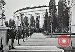 Image of first burial ceremony at Tomb of the Unknown Soldier Arlington Virginia USA, 1921, second 30 stock footage video 65675021991