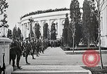 Image of first burial ceremony at Tomb of the Unknown Soldier Arlington Virginia USA, 1921, second 33 stock footage video 65675021991