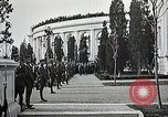 Image of first burial ceremony at Tomb of the Unknown Soldier Arlington Virginia USA, 1921, second 34 stock footage video 65675021991
