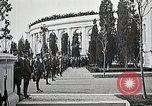 Image of first burial ceremony at Tomb of the Unknown Soldier Arlington Virginia USA, 1921, second 35 stock footage video 65675021991