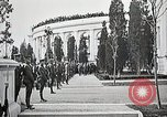 Image of first burial ceremony at Tomb of the Unknown Soldier Arlington Virginia USA, 1921, second 36 stock footage video 65675021991