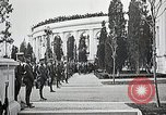 Image of first burial ceremony at Tomb of the Unknown Soldier Arlington Virginia USA, 1921, second 37 stock footage video 65675021991
