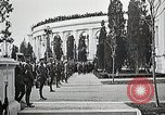 Image of first burial ceremony at Tomb of the Unknown Soldier Arlington Virginia USA, 1921, second 38 stock footage video 65675021991