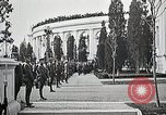 Image of first burial ceremony at Tomb of the Unknown Soldier Arlington Virginia USA, 1921, second 40 stock footage video 65675021991