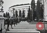 Image of first burial ceremony at Tomb of the Unknown Soldier Arlington Virginia USA, 1921, second 42 stock footage video 65675021991