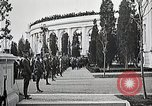 Image of first burial ceremony at Tomb of the Unknown Soldier Arlington Virginia USA, 1921, second 43 stock footage video 65675021991