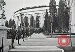 Image of first burial ceremony at Tomb of the Unknown Soldier Arlington Virginia USA, 1921, second 44 stock footage video 65675021991