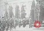 Image of first burial ceremony at Tomb of the Unknown Soldier Arlington Virginia USA, 1921, second 45 stock footage video 65675021991