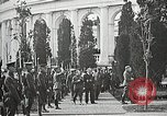 Image of first burial ceremony at Tomb of the Unknown Soldier Arlington Virginia USA, 1921, second 46 stock footage video 65675021991